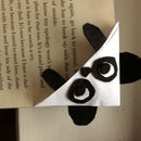 Cute Panda Corner Bookmark :)