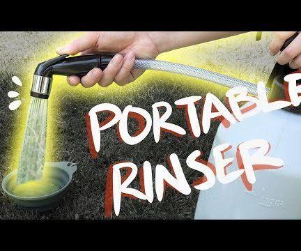 DIY Portable Camping Shower / Rinser