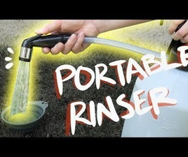 DIY Portable Camping Shower / Rinser