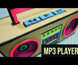 MP3 Playing 90's BoomBox