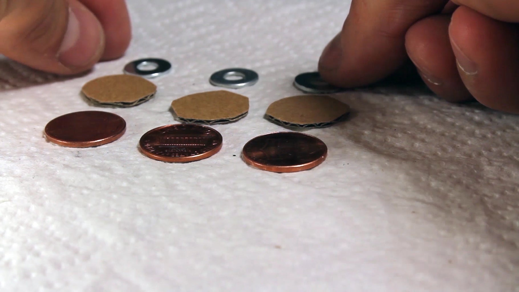 Power a Calculator With 3 Pennies!