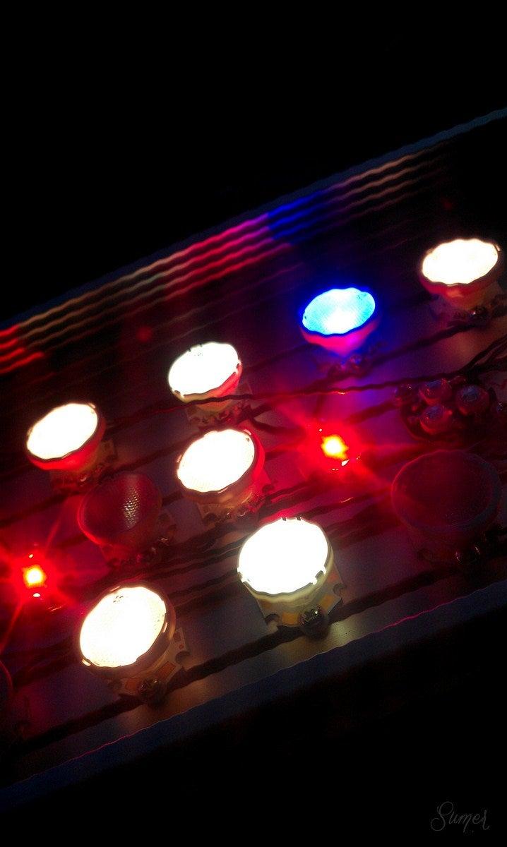 Putting the Optics on the LEDs