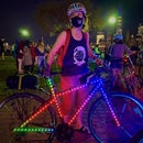 NeoPixel Party Bike - Music Reactive Light Animations With Controller