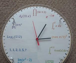 Math-Physics Rainbow Clock