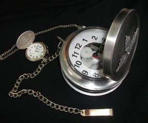 Oversized Pocket Watch