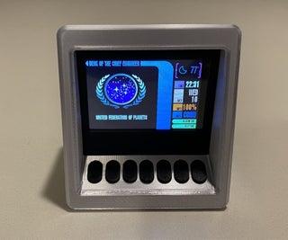Make It So! Star Trek TNG Mini Engineering Computer
