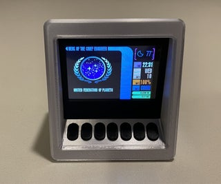 Make It So! Star Trek TNG Mini Engineering Computer