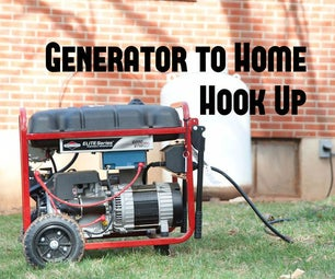 Easy Generator to Home Hook Up