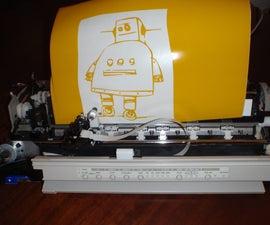 Printer to Vinyl Cutter Hack
