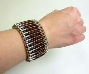Safety Pin Bracelet!!!!