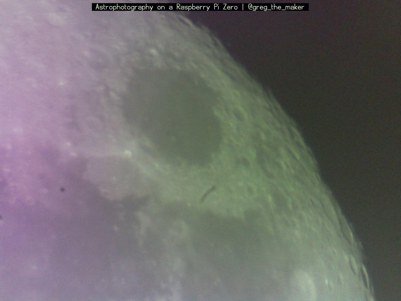 Astrophotography With the Raspberry Pi Zero.