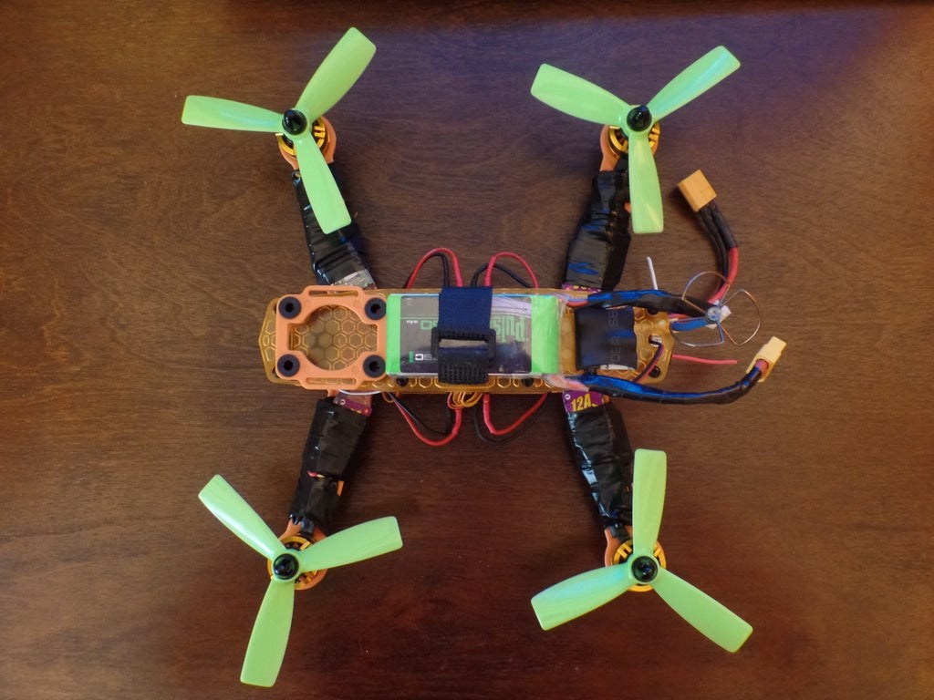 How To Build A Quadcopter For Fpv Step By Step 21 Steps With Pictures Instructables