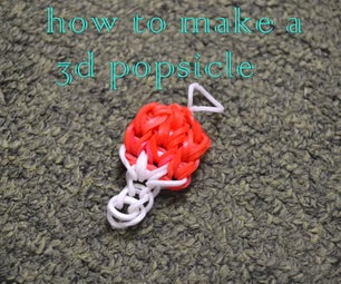 How to Make a 3D Popsicle Charm