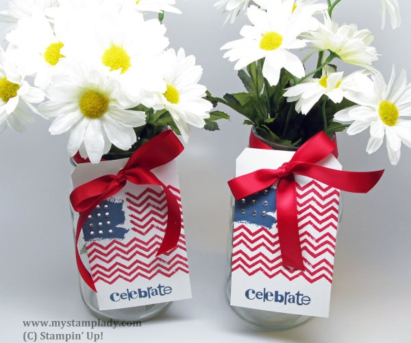 Flag Tag for Your Fourth of July Decor