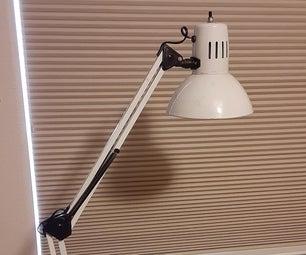 摇臂台灯反射器升级