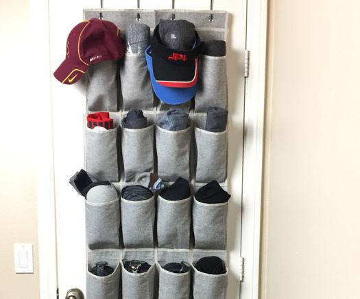 Workout Closet Organizer