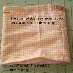 Make Space for the Draw String