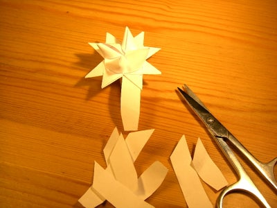 Trimming Off Excess Paper