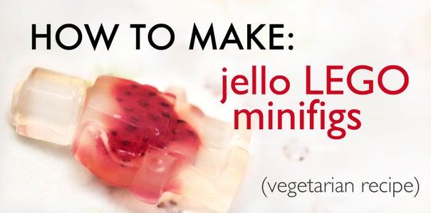 How to Make Jello LEGO Minifigs