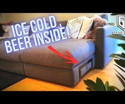 Voice Controlled Sofa Beer Fridge