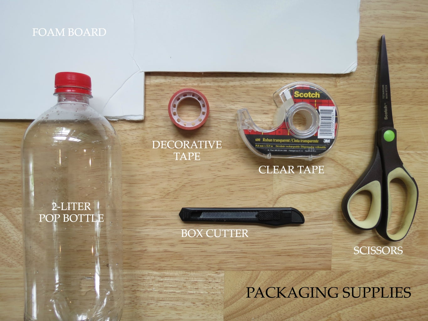 Supplies and Ingredients