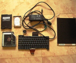 Take Apart an Old Laptop and Recover Usable Parts