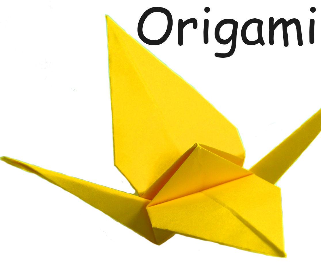 DIY  How to Make a Paper Crane - Origami