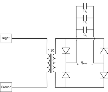 Filtering: Capacitors (Smoothing Rectified Voltage)