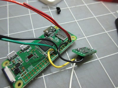 Solder Wires Into Place