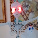 Halloween Arduino skeleton