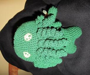 Amigurumi Crochet Cthulhu Doll