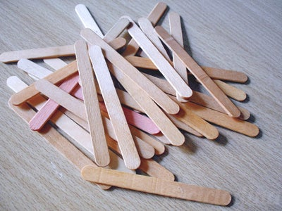 Collect Popsicle Sticks!