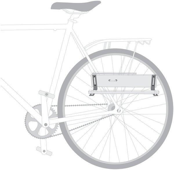 Side Shelf for a Bike