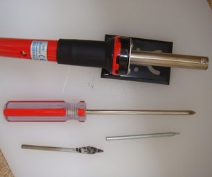 Rope Cutting Heated Blade