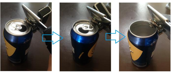 Preparing the Aluminum Cans