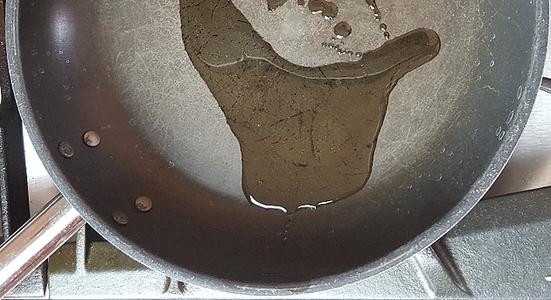 Heat Skillet & Oil
