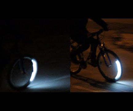 Spinning bicycle light