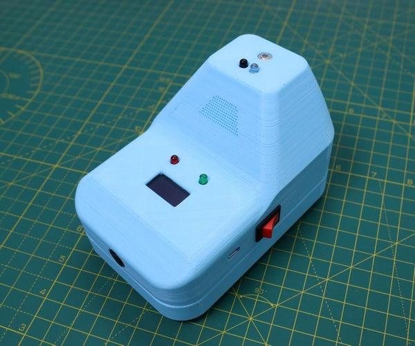 DIY非接触式红外温度计