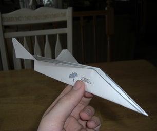 Paper Airplane: HAWK V.1
