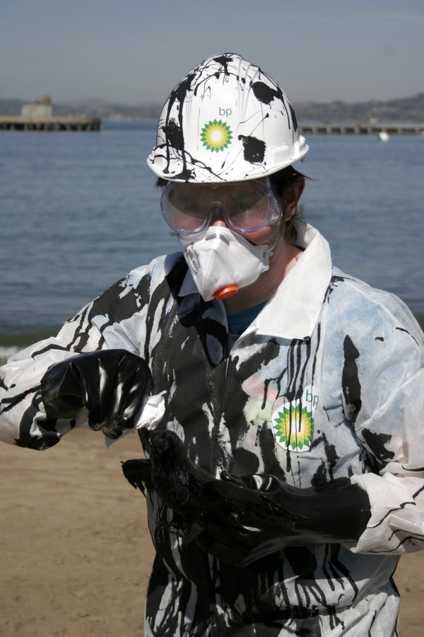 BP Oil Spill Clean-Up Costume