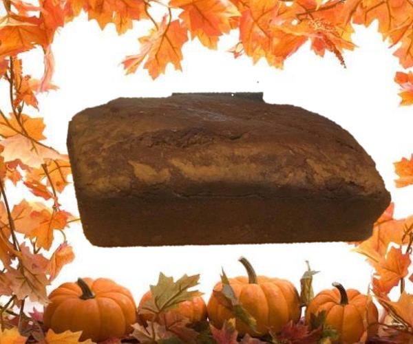 Family Famous Festive Pumpkin Bread