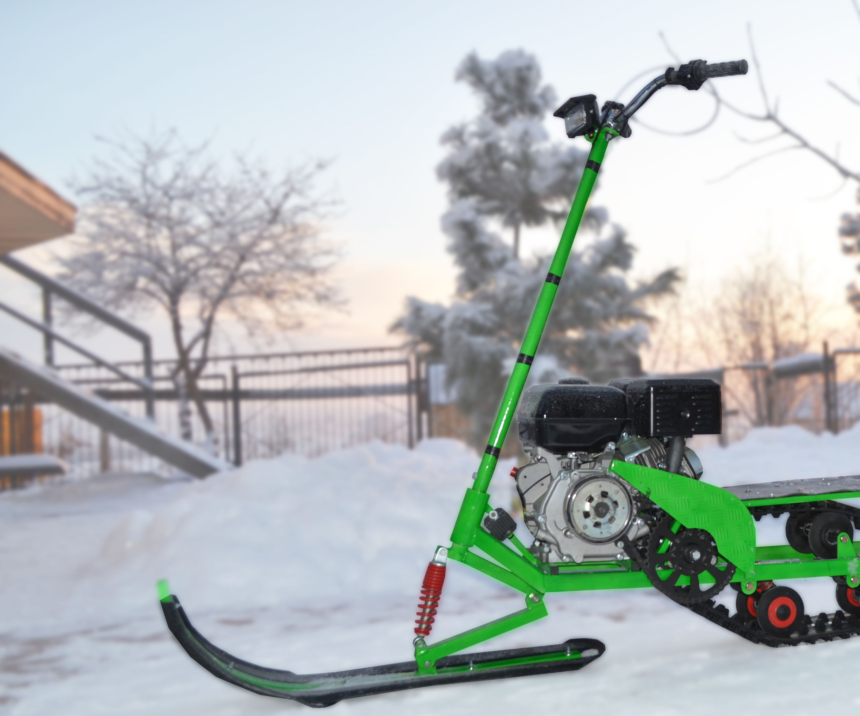Mini Bike Snow