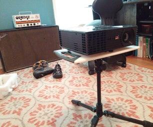 Tripod & Cutting Board Projector Stand