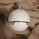 Make a Marvin the Paranoid Android Christmas bauble