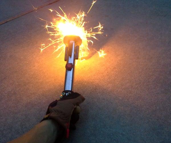 July 4th Sparkler Lightsaber!