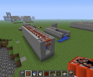 Simple Long Range Minecraft Cannon