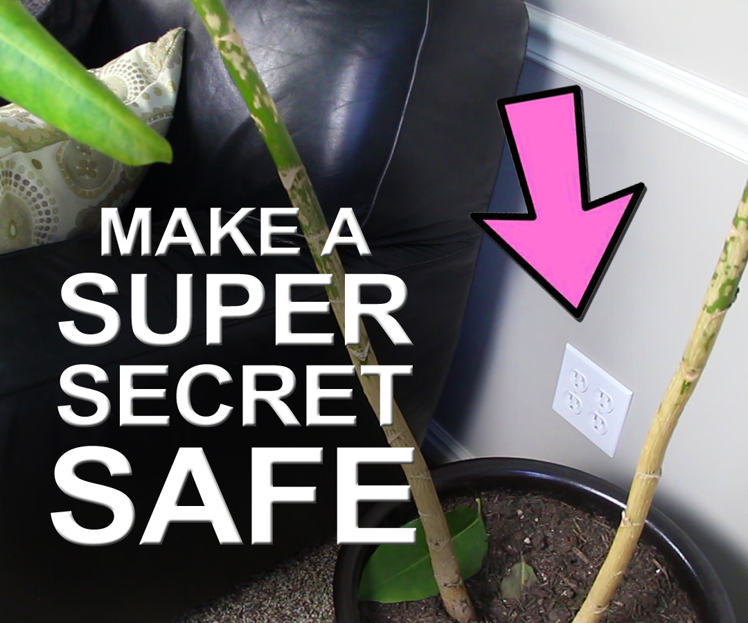 How To Make A Super Secret Safe - For Less Than $3