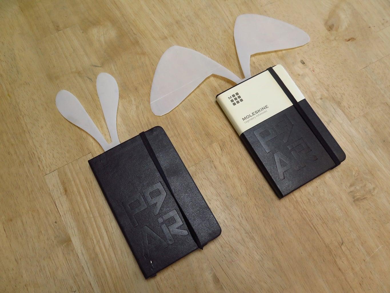 Rabbit Ear Bookmarks
