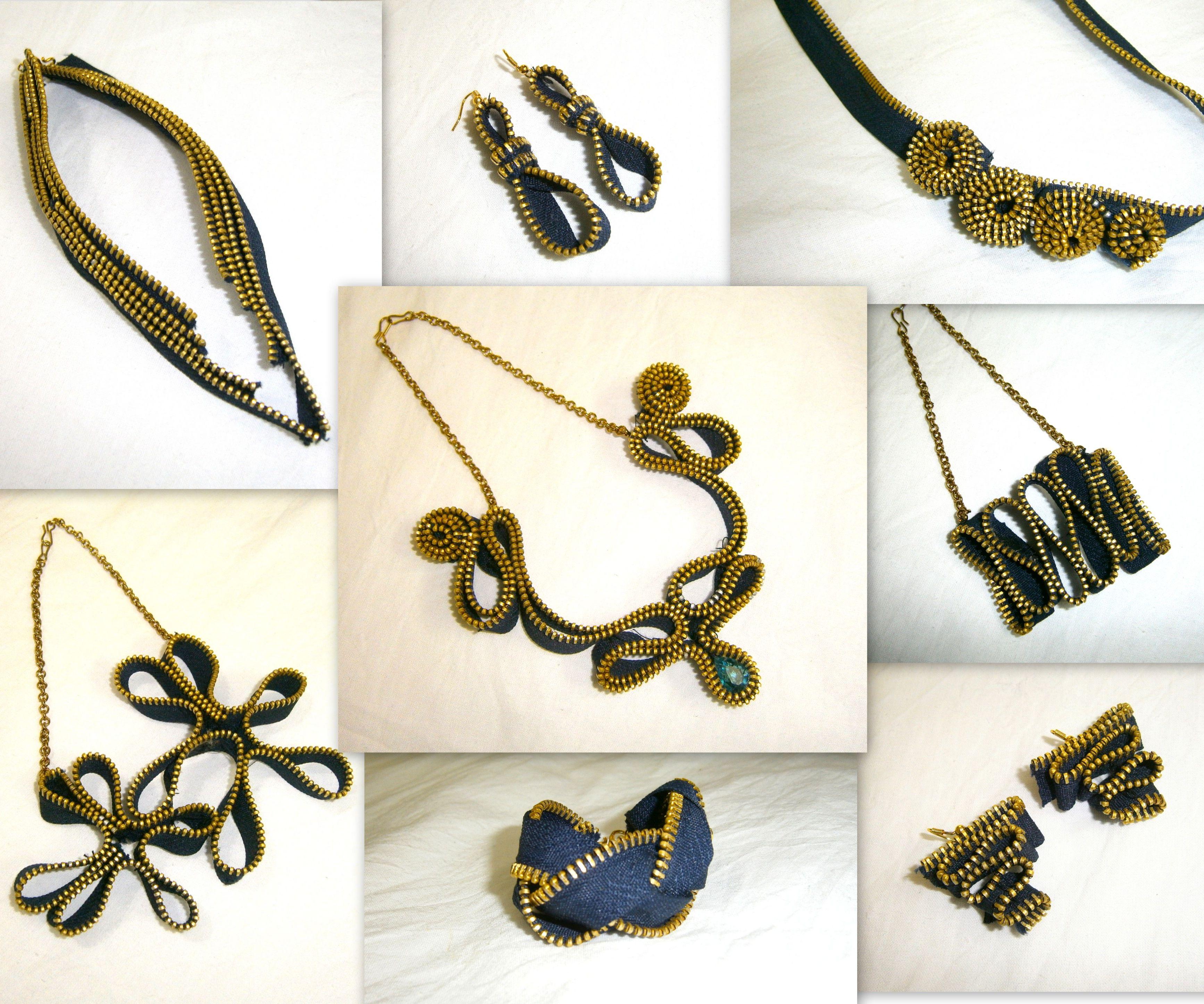 8 DIY Zipper Jewelry