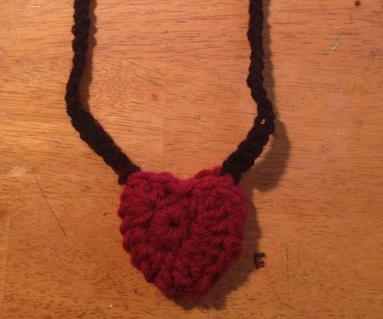 Crochet Heart Money Locket